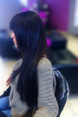 Après extensions de cheveux