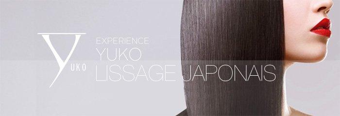 Bannière lissage japonais Yuko