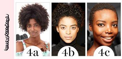 Cheveux crépus ou afro